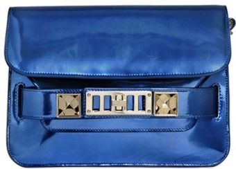 Proenza Schouler Ps 11 Classic Mirrored Leather Bag - Lyst
