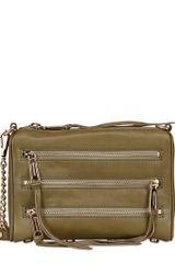Rebecca Minkoff Mini Zips Leather Shoulder Bag - Lyst