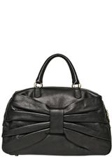 RED Valentino Bow Leather Top Handle Bag - Lyst