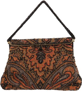 Rewind Vintage Affairs Glass Beaded Bag - Lyst