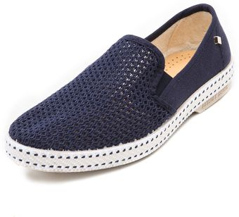 Rivieras Classic Slip On Sneakers - Lyst