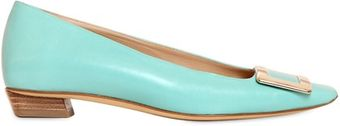 Roger Vivier 25mm Belle Vivier Leather Pumps - Lyst