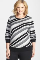 Sejour Stripe Sweater - Lyst