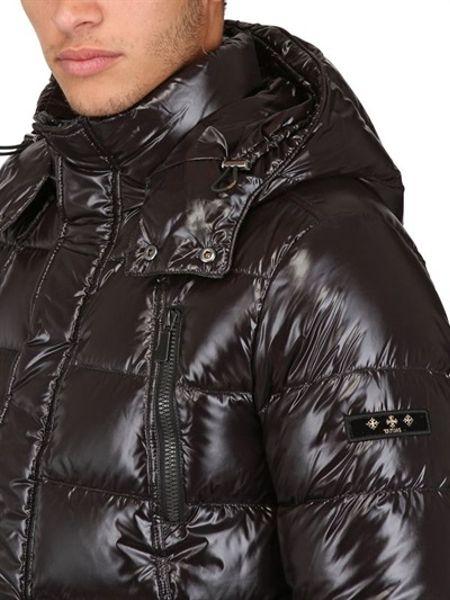 Hooed nylon jacket handjob movies