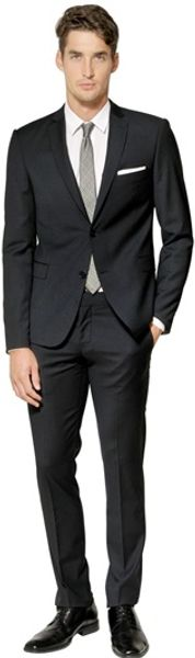 The Suits Stretch Techno Cool Wool Suit - Lyst