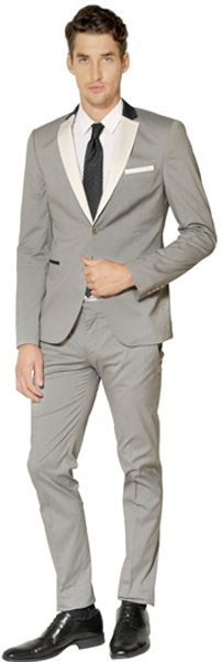 The Suits Stretch Cotton Micro Pinstripe Suit - Lyst