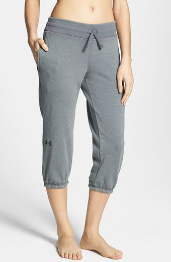 Under Armour Legacy Charged Cotton Capris - Lyst
