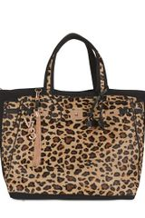 V73 Animalier Print Cotton Tote - Lyst