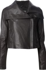 Vince Leather Jacket - Lyst
