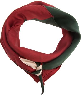 Yves Saint Laurent Vintage Striped Scarf - Lyst