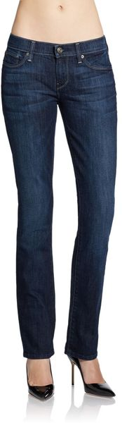 7 For All Mankind Classic Straightleg Jeans - Lyst