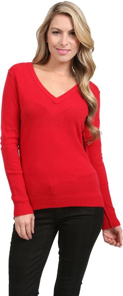 Autumn Cashmere V-Neck Sweater - Lyst