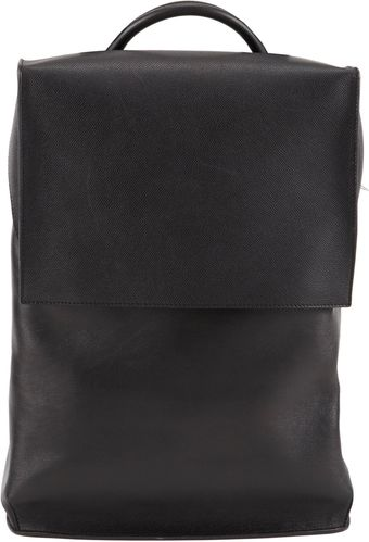 Balenciaga Boxy Leather Backpack - Lyst