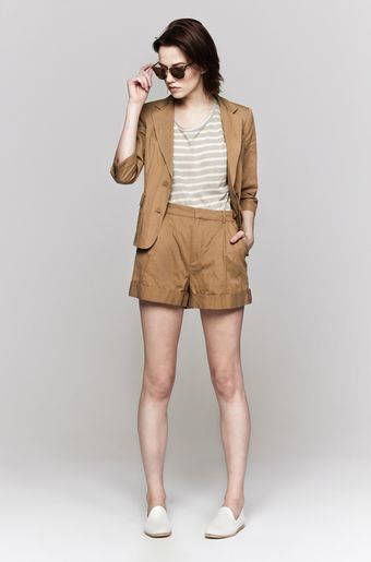 Band Of Outsiders Rolled Cuff Shorts - Lyst