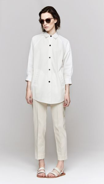 Band Of Outsiders Raglan Sleeve Tunic - Lyst