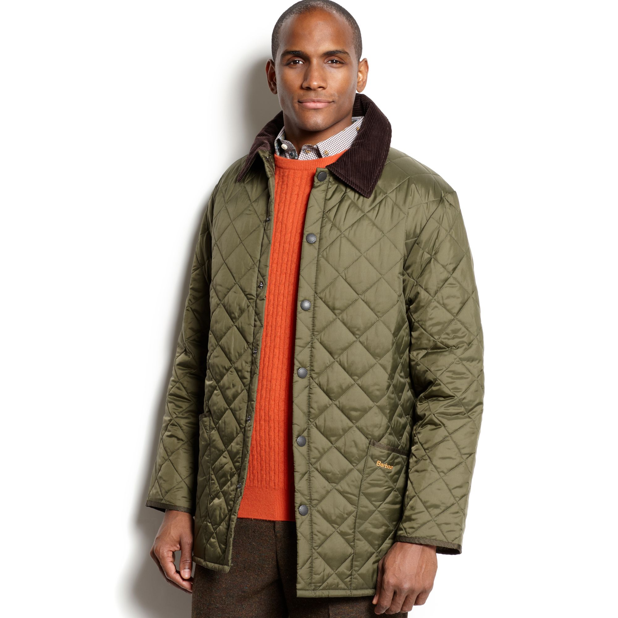 Lyst - Barbour Liddesdale Quilted Jacket in Green for Men 02504030187f