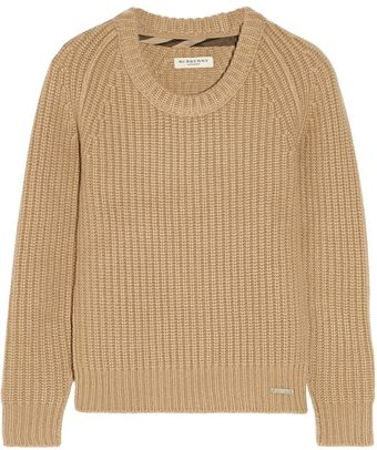Burberry Chunky-knit Cashmere Sweater - Lyst