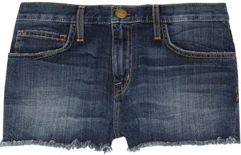 Current/Elliott The Boyfriend Lowrise Cutoff Shorts - Lyst