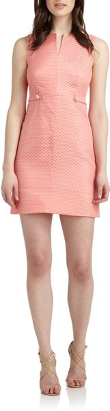 Cynthia Steffe Addison Jacquard Sheath Dress - Lyst