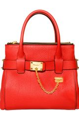 DSquared2 Grained Leather Top Handle Bag - Lyst
