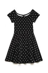 Forever 21 Retro Dots Skater Dress