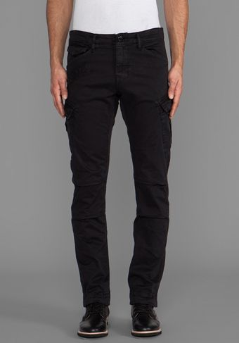 G-star Raw Rovic Slim Cargo in Black - Lyst
