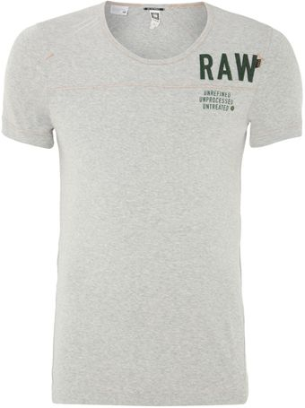 G-star Raw Raw Logo Printed T-shirt - Lyst