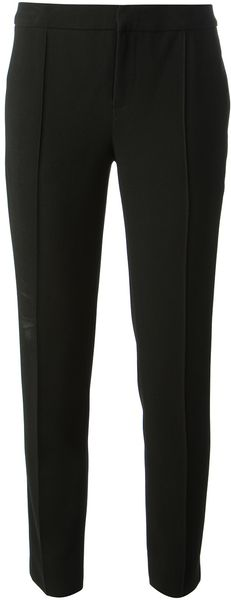 Haute Hippie Cropped Tailored Trouser - Lyst