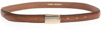 Isabel Marant Ciara Leather Belt - Lyst