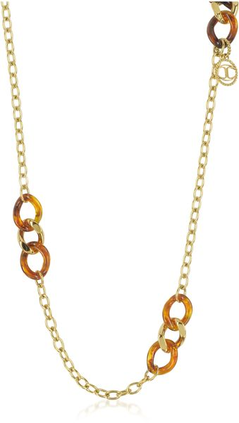 Just Cavalli Nature Stainless Steel Womens Necklace - Lyst