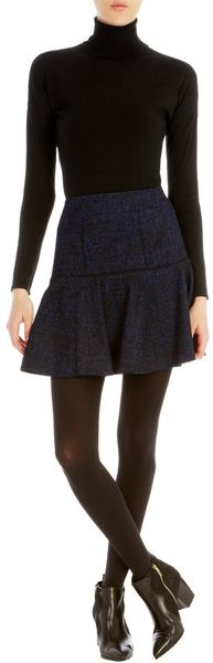 Karen Millen Dropped Shoulder Detail Sweater - Lyst