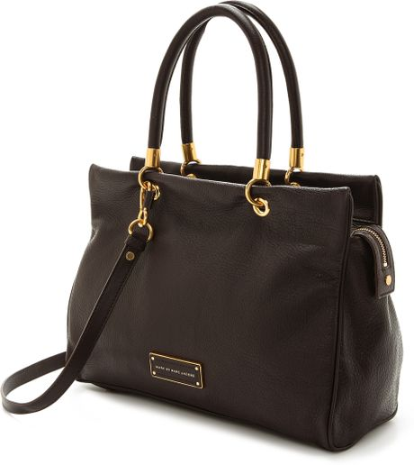 Marc By Marc Jacobs Too Hot To Handle Tote In Brown (Carob