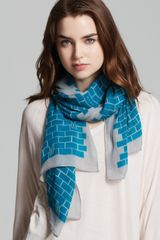 Marc By Marc Jacobs Brick Bunnies Scarf - Lyst