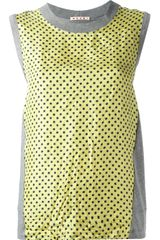 Marni Colour Block Vest Top - Lyst