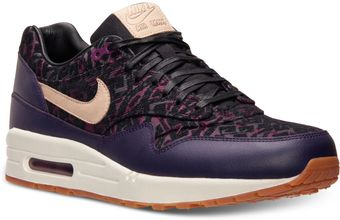 Nike Womens Air Max 1 Premium Running Sneakers From Finish Line - Lyst