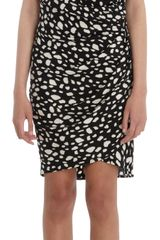 Sea Spots Print Sleeveless Dress - Lyst