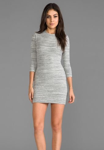 Sen Paulina Dress in Gray - Lyst
