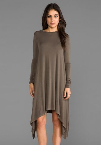 Sen Sahara Dress in Olive - Lyst