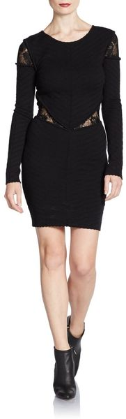Torn By Ronny Kobo Holly Lace Knit Dress - Lyst