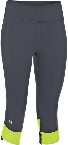 Under Armour Flyby Compression Capris - Lyst