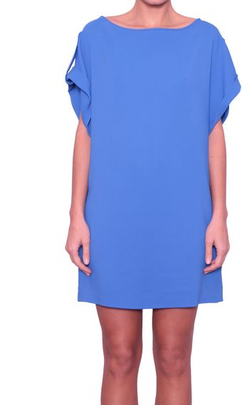 Vionnet Tunic Viscose Dress with Pockets - Lyst