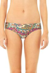 Zimmermann Wide Link Paisleyprint Bikini Briefs - Lyst