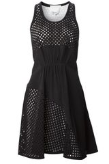 3.1 Phillip Lim Laser Cut Dress - Lyst