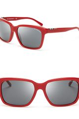 Burberry Wayfarer Sunglasses - Lyst