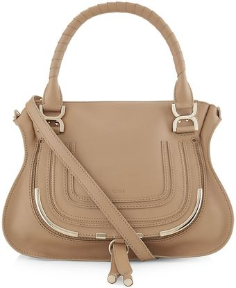 Chloé Medium Marcie Metal Shoulder Bag - Lyst