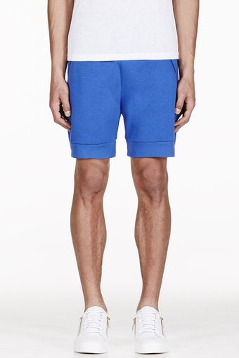 Christopher Kane Blue Lounge Shorts - Lyst