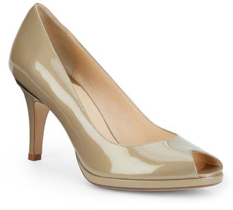 Cole Haan Patent Leather Pumps - Lyst