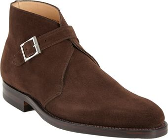 Crockett & Jones Burnham 2 Monk Boot - Lyst