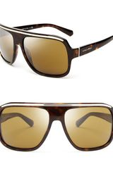 Giorgio Armani Timeless Oversized Square Sunglasses - Lyst