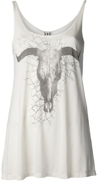 Haute Hippie Spider Web and Long Horn T-Shirt - Lyst
